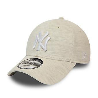 Nova Era 9Forty KIDS Cap - JERSEY NY Yankees pedra bege