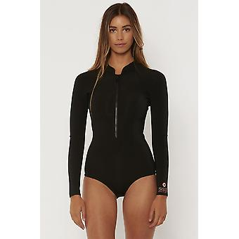 Sisstr pescadora cheeky spring wetsuit - black