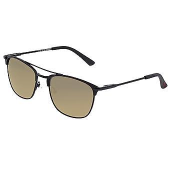 Breed Zodiac Titanium Polarized Sunglasses - Schwarz/Bronze