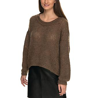 Aggel Strickwaren Frauen's Mohair Crop Pullover