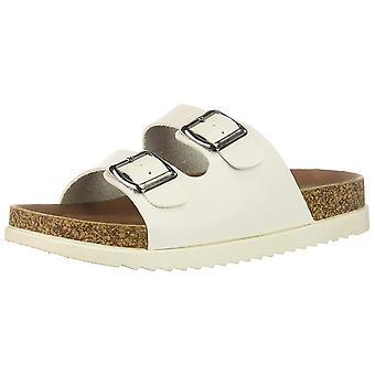 Madden Girl Womens Goldiie Open Toe Casual Slide Sandals