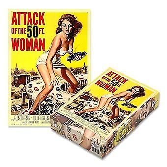 Phd - attack of the 50ft woman - 500 piece puzzle