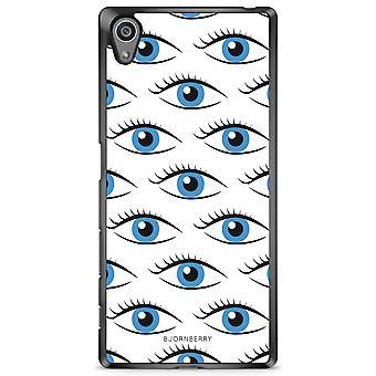 بيورنبيري شل سوني اريكسون Z5 - العيون الزرقاء
