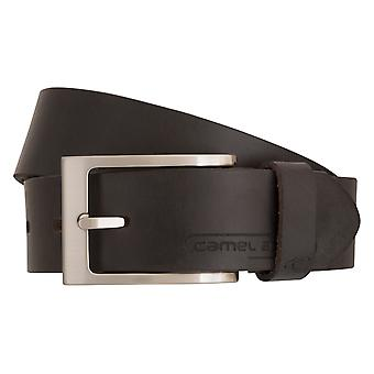 Camel active ceinture cuir ceintures hommes courroies courroies de cuir pour hommes Brown 1015