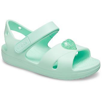 Crocs unisex cross strap sandal mint green 30710