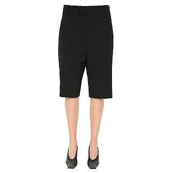 Bottega Veneta 618531vkpz01000 Women's Black Wool Shorts