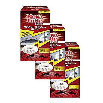 Sparset: 3 x NEXA LOTTE® Ultra Mosquito & Gelsen plug start pack, 1 set