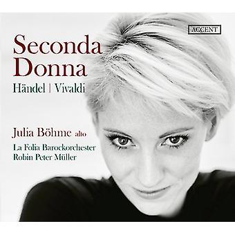 Seconda Donna [CD] USA import