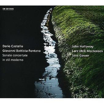 John Holloway - Dario Castello, Giovanni Battista Fontana: Sonate Concertate in Stil Moderno [CD] USA import