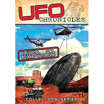 Ufo Chronicles: Area 51 Exposed [DVD] USA import