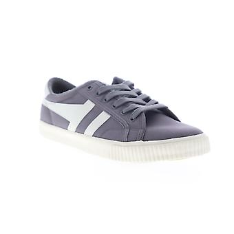 Gola Tennis Mark Cox  Mens Gray Canvas Lace Up Lifestyle Sneakers Shoes