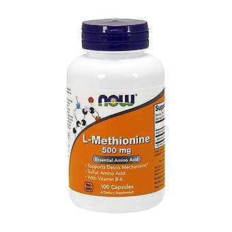 L-Methionine 500 mg 100 capsules