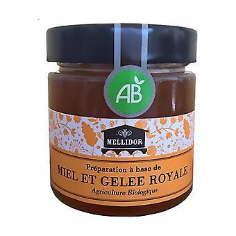 Mixture ORGANIC Honey and Organic Royal Jelly at 10% 220 g