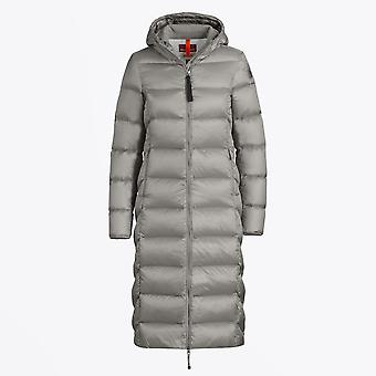 Parajumpers - Leah - Long Puffer Jacket - Zilver