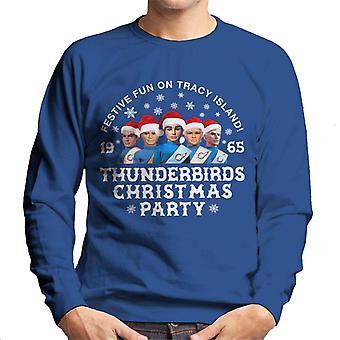Thunderbirds juhla joulu juhlat miesten ' s pusero