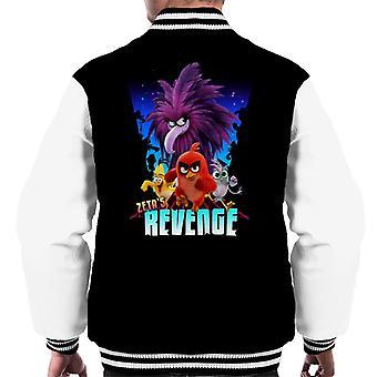 Angry Birds Zeta Revenge Men's Chaqueta Varsity