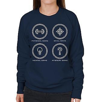 Krystal labyrint ikoner kvinder ' s sweatshirt