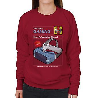 Haynes Virtual Gaming Workshop Manual Women's Sweatshirt