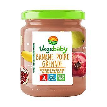 Small jars Baby Banana Pear Pomegranate 8 months 120 g