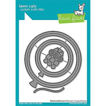 Lawn Fawn Stitched Balloon Frames Dies