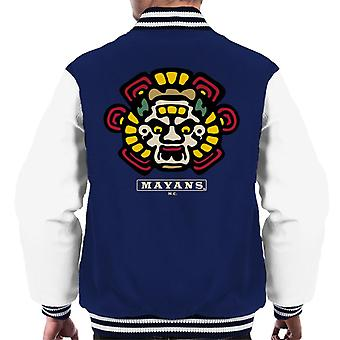 Mayans M.C. Motorcycle Club Face Colour Logo Emblem Men's Varsity Jacket