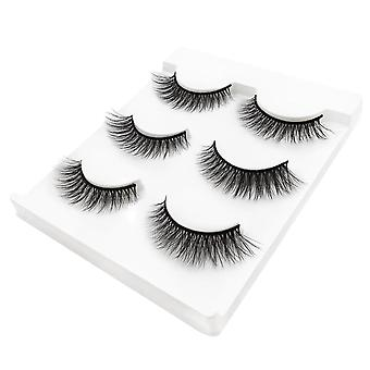 Hand Made, Natural Long 3d Eyelash- Reusable