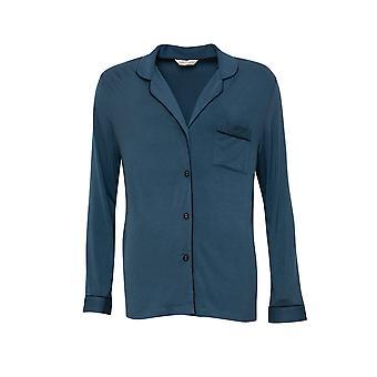 Cyberjammies Elena 4575 Femmes-apos;s Teal Blue Pyjama Top