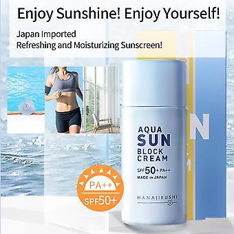 Sunscreen Aqua Sun Block Whitening Sun Screen Ultra-light Water-resistant Sun Cream