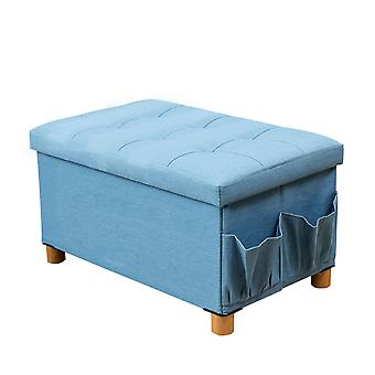 YANGFAN Foldable Storage Sgabello Salotto Footstool