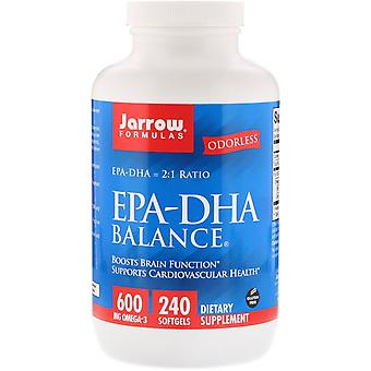 Fórmulas Jarrow, Balance EPA-DHA, 240 Softgels