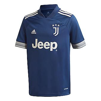 adidas Juventus 2020/21 Kids Away Football Shirt Bleu Marine