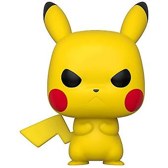 Pokemon Pikachu Grumpy Pop! Vinyle
