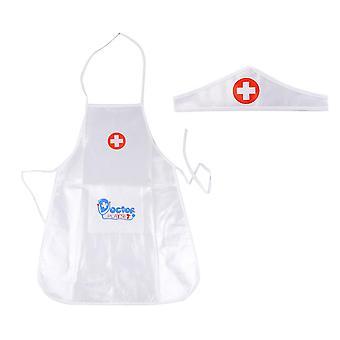 Doctor's Overall Nurse Uniform Roolipeli puku - Koulutus Lelu