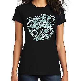 Lucky 13 Women's T-Shirt Dead Men
