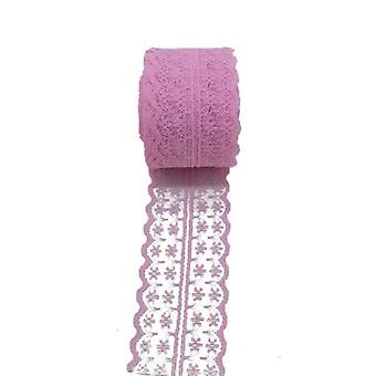 Fabric Rustic Wedding Decoration Handcrafted Embroidered Lace Ribbon - Sewing