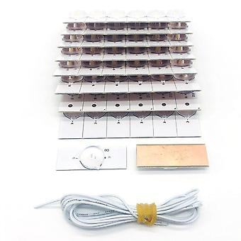 High-quality 6v Smd Lamp Beads Lens Lamp Beads With Optical Lens Fliter&cable For 32-65 Inch Led Tv Repair