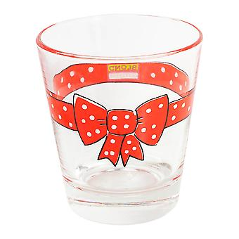 Blond Amsterdam Red Bow Glass