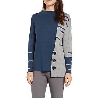 Nic+Zoe | Toggled Stripe Sweater