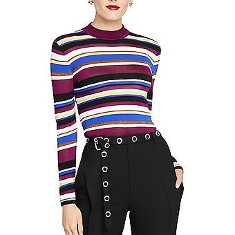 RACHEL Rachel Roy | Back Cut Out gestreiften Pullover Pullover Pullover