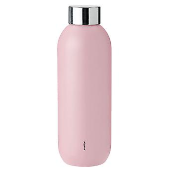 Stelton Keep Cool Thermal Bottle Drinking Bottle 0.6 liter roze