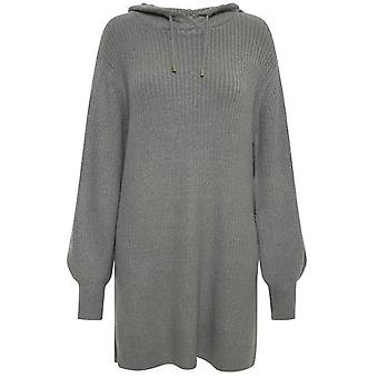 b.young Nora Grey Hooded Tunic