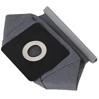 00013 Filtertasche Tuch Staubbeutel für horizontale Vakuum grau 3cm 5cm Loch