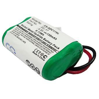 Battery for PetSafe Dogtra Sportdog 650-058 DC-17 SD-400 FR200 SD-350 SD-800
