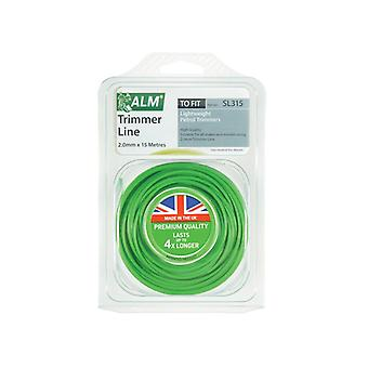 ALM Manufacturing SL315 Light-Duty Petrol Trimmer Line 2.0mm x 15m