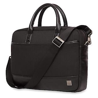 Knomo Holborn Princeton Briefcase for 15-Inch Laptop - Black - 43-201-BLK