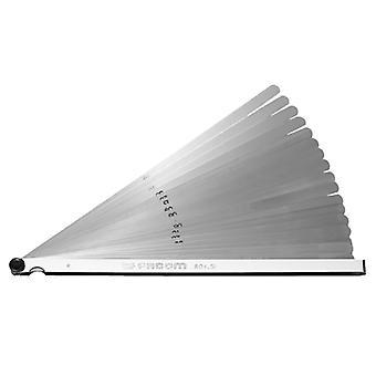 Facom Feeler -mittari Metrinen pitkä terä FCM804SL