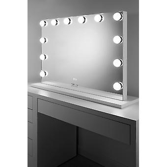 Profesjonell audio hollywood makeup speil med dimbar LED k720aud