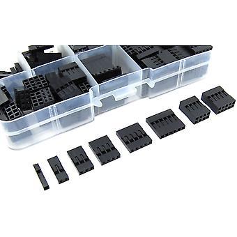 150pcs 2.54mm Pin Connector Housing Set