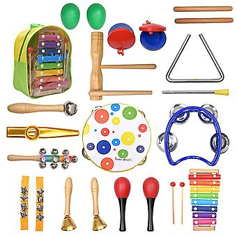 Percussion Musical Instruments Sets, Rhythm & Music Educational Band Set,