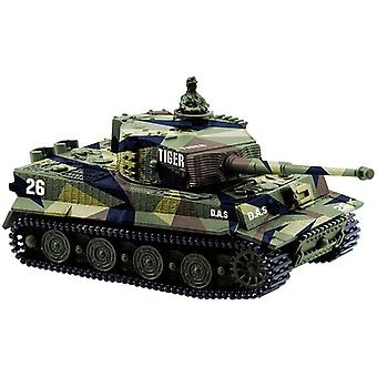 1:72 4 Couleurs Mini Tiger Battle Rc Tank- Télécommande Radio Control Panzer Blindé
